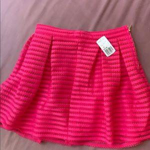 Forever 21 hot pink mini skirt
